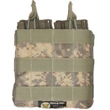 BULLE UCP ACU US Army Digital Camo Molle Webbing Open Top DOUBLE MAG POUCH