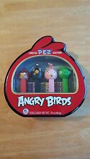 New PEZ Candy Limited Edition Angry Birds Gift Tin