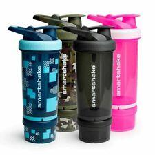Smartshake revivir Gimnasio Proteína Coctelera Botella Mezcladora Deportes bocadillos 750ml Tazas