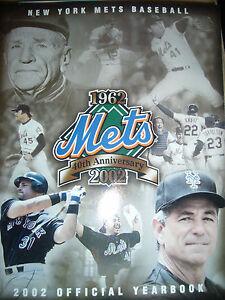 New York Mets 2002  Yearbook