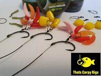5 Claw Rigs Blowout Rigs Korda N Trap Hooklink Teflon Custom Carp Rigs Nash