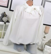 Damenblusen, - tops & -shirts mit Schleifenkragen in Größe 38