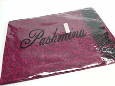 From the Pashmina Store is this new Pashmina/ Silk Lavender Shawl Wrap Scarf