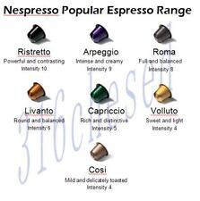 50 Nespresso Genuine Capsules Pods  - SAVE $5 WHEN YOU BUY 2