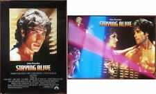 2 Posters American Staying Alive Sylvester Stallone John Travolta