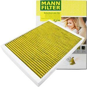 Mann-filter Cabin Air Filter FP2742 fits Citroen C5 RW_ 2.0 HDi 2.7 HDi