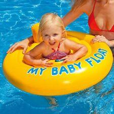 Salvagente Gonfiabile Bambino Neonato Mare con Mutandina e Schienale 70cm Intex