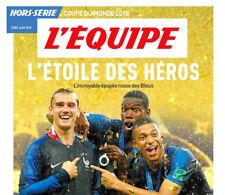 L'EQUIPE- HORS SERIE - L'étoile Des Héros 2018 - Coupe Du Monde Football Russie-