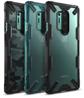 For OnePlus 8 Pro Case   Ringke [FUSION-X] Clear PC Back Shockproof Bumper Cover