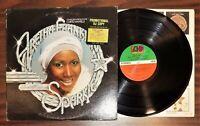 Vintage soul lp ARETHA FRANKLIN Sparkle 1976 Atlantic SD 18176 promo movie s/t
