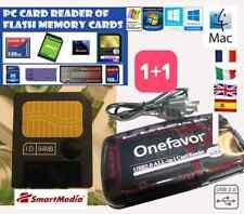 64MB SMARTMEDIA CARD+Box+LETTORE MEMORY CARD READER-KORG-Yamaha-Roland-OLYMPUS