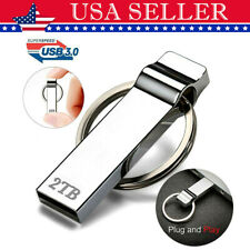 USB 2TB 3.0 Metal Mini Flash Pen Drive Memory Storage Stick High Speed U Disk