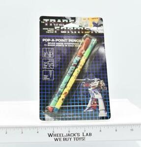 Megatron Pop-A-Point Pencil NEW MOSC Transformers G1 Vintage Hasbro Spindex 1985