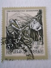 1999 Austria Myths & Legends 32s The Discovery of Erzburg used Mi.2345 A7C5