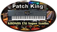 Korg Kronos Sound Library - V9 Exi Super Synths - New Sounds for Korg Kronos