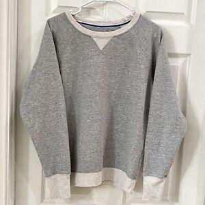 Women's L Champion Long Sleeve Pullover Gray Sweatshirt