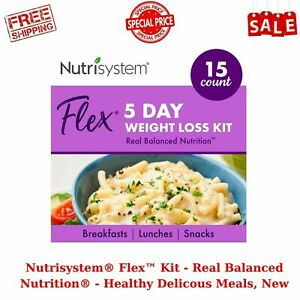 Nutrisystem Flex™ Kit - Real Balanced Nutrition- Healthy Delicious Meals, New