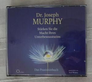 6 CDs Dr. Joseph Murphy: Stärken Sie die Macht Ihres Unterbewusstseins