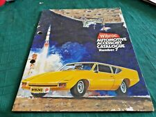 1970 WIBROC Automotive Accessory Catalogue MIRRORS etc HOLDEN FORD etc