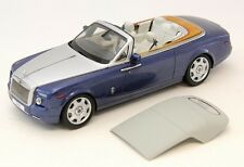 KYOSHO Rolls Royce Phantom Drophead Coupe Metropolitan Blue 1:18*Last One!