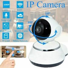 Wireless Hd 720P Pan Baby Pet Monitor Network Security Ip Camera WiFi Ir Webcam