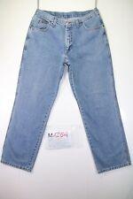 Wrangler Idaho (Cod. M1254) tg 50 W36 L30 jeans vita alta usato vintage used