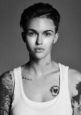 "101 Ruby Rose - Australian Model DJ Actress 24""x34"" Poster"