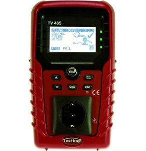 "Gerätetester VDE 0701-0702 ""Testboy TV 465"" NEU"