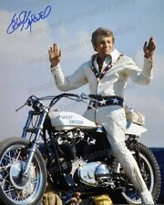 "8x10 Print Robert Craig 'Evel"" Knievel Stunt Performer 1974 Read Condition #EK1"