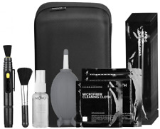 Movo Deluxe Essentials DSLR Camera Cleaning Kit with 10 APS-C Sensor Swabs Fluid
