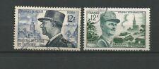France 1954 M. De Lattre de Tassigny & M. Leclerc Y&TN°982 timbre oblitéré/T6770