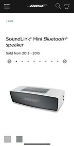 Bose Soundlink Mini with Accessories