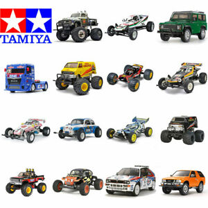 Tamiya RC Assembly Kit Bundles - Includes Everything! Kit Radio Battery Charger