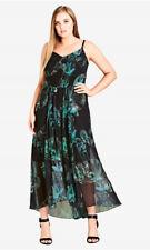 City Chic XL 22 Maxi Noriko Floral Summer Dress