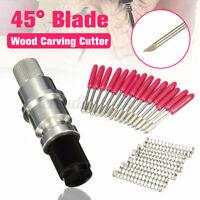 15x 45° Schneideplotter Plottermesser mit CB09 Messerhalter für Schneideplotter