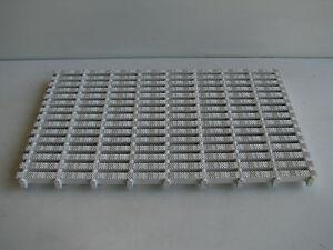 Non Slip Plastic Interlockable Drainage Bath Shower Pool Mat Panel - 500 x 300