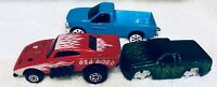 Hot Wheels, Mixed lot of 3 cars collectible Chevy S10 Ford muscle