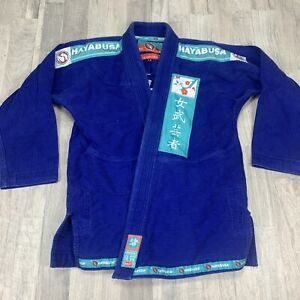 Hayabusa Lightweight Jiu Jitsu 100% Cotton Gi - Blue F3 TOP ONLY Women's Gi
