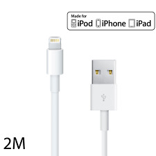 2m-6ft-LIGHTNING-CABLE-ORIGINAL-CHARGEUR-USB-IPHONE-5-5C-5S-6-6S/6+/ IPAD APPLE