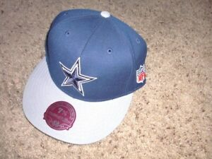 DALLAS COWBOYS blue sewn star Mitchell & Ness Fitted Hat 7 3/8 BRAND NEW