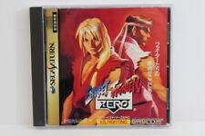 Street Fighter Zero 1 Alpha Sega Saturn Ss Japan Import Us Seller G7054