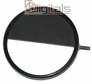 72mm Half Frame Lens Filter Attachment Double Exposure Two picture 1 Frame Trick