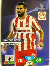 Adrenalyn XL Champions League 13/14 - Dimitris Siovas - Olympiacos FC