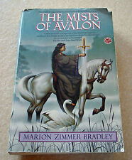 The Mists of Avalon by Marion Zimmer Bradley, saga of women behind King Arthur