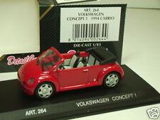 DETAIL CARS - VW COCCINELLE CONCEPT 1 CAB ROUGE