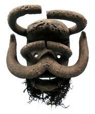 Art Africain - Extraordinaire Masque Kran Bete - Cornes Démesurées - Volumes TOP