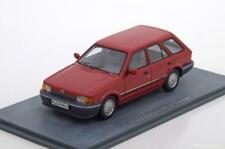 FORD ESCORT 1.6 GL MKIV TURNIER BREAK 1986 RED METAL NEO 44963 1/43 ROT ROSSO