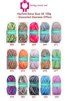 Hayfield / Sirdar Bonus Buzz DK 100g - Discounted Clearance Offers