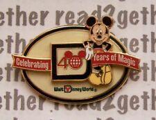 Disney Pin WDW 40 Years of Magic Logo
