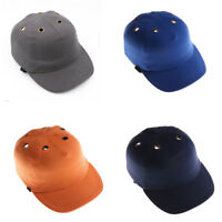 Work Safety Bump Cap Helmet Baseball Hat Style Protective Head Safety Hard HHFFS